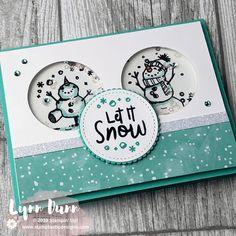Let It Snow - 4 Snowman Season Card Ideas - . - Let It Snow – 4 Snowman Season Card Ideas – let # - Homemade Christmas Cards, Christmas Cards To Make, Christmas Wishes, Homemade Cards, Holiday Cards, Christmas Wedding, Stampinup Christmas Cards, Chrismas Cards, Prim Christmas