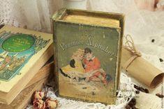 Купить Шкатулка - книга - оливковый, книга, книга-шкатулка, шкатулка, шкатулка для украшений, шкатулка декупаж