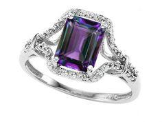 Tommaso Design Emerald Cut 8x6mm Simulated Alexandrite Ring in 14 kt White Gold Size 5 Tommaso design Studio http://www.amazon.ca/dp/B00IAVCLLM/ref=cm_sw_r_pi_dp_vkBIwb1R4ME5D