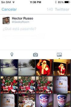 Ahora es más fácil incluir fotos en los tweets con la app de Twitter para iPhone