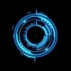 HUD by Alexey Romanowski, via Behance.It's Kinda Tron Thing. Interface Design, User Interface, Background Images For Editing, Gif Background, Ui Animation, Web Design, Futuristic Design, Futuristic Technology, Grafik Design