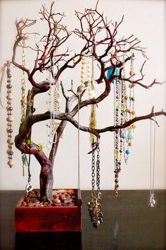30 All Natural Tree Jewelry holder  Jewelry Organizer West Coast