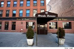 Peter Luger Steak House (New York) *2 locations, Brooklyn is the original and fave.