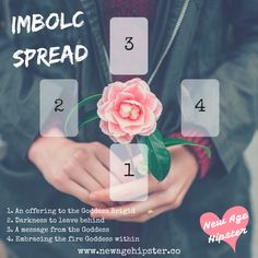 Imbolc Spread from New Age Hipster ~ for Tarot or oracle cards