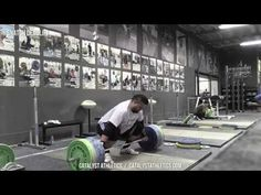 Snatch Deadlift - Exercise Library: Demo Videos, Information & Terminology - Catalyst Athletics Olympic Weightlifting