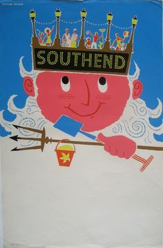 Daphne Padden Southend coach poster