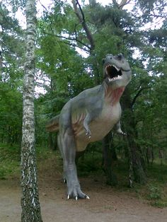 Another place with the dinosaurs - park in Łeba!!!