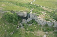 La cascade du Déroc sur le plateau de l'Aubrac