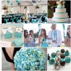 Get the Look: Tiffany Blue Wedding Theme