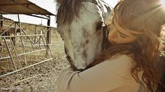 There is no greater love then a girls love for her horse