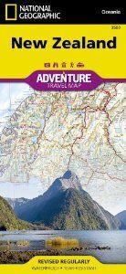 New Zealand (Adventure Travel Map) (AdventureMap