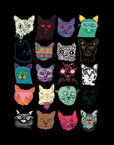 hipster kitties