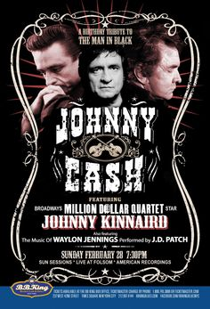 Johnny Cash Birthday Bash feat. Johnny Kinnaird (2.28.16)