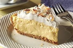 It looks like a special-occasion dessert, but this scrumptious coconut cream pie is so easy to make you could whip it up any old time.