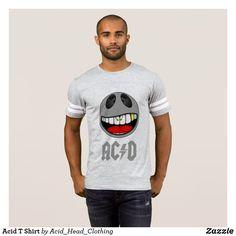 Acid House T-Shirts & Shirt Designs Head Clothing, Acid House, Shirt Designs, Men Casual, Music, Mens Tops, T Shirt, Clothes, Style