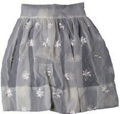 Vintage Sheer White Apron 1950's June Cleaver