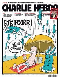 Charlie Hebdo - # 1048 - 18 Juillet 2012 - Couverture : Luz