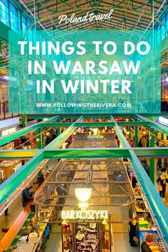 Things to do in Warsaw in winter. to the Polish capital of and explore the top indoor and outdoor things to see. Backpacking Europe, Europe Travel Guide, Travel Guides, Travel Hacks, Travel News, Travel Goals, Winter Travel, Holiday Travel, Winter Destinations