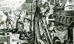 Imkerei auf einem niederländischen Bauernhof Jan van der Straet/Giovanni Stradano oder Stradanus (1523-1605) Antwerpen, Florenz