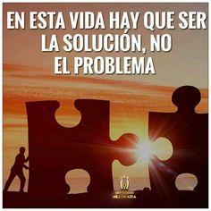 Siempre tenemos que intentar ser la solución...