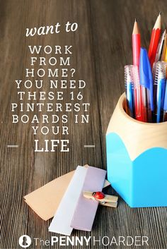 Crave freedom and flexibility? Want to work from home? You should definitely follow these Pinterest boards. - The Penny Hoarder www.thepennyhoard...