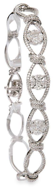 Jewel Love diamond bracelet…♥✤ | Keep the Glamour | BeStayBeautiful