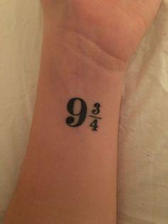 Mini Tattoos, New Tattoos, Small Tattoos, Cool Tattoos, Tatoos, Hp Tattoo, Tattoo Quotes, Harry Potter Nails, Small Harry Potter Tattoos