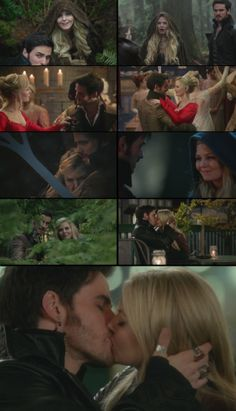 Captain Swan - There's No Place Like Home - Emma and Hook finally together. As it always should be, and as it always will be.