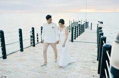White and Gray Boracay Wedding Wedding Blog, Wedding Ideas, Gray Weddings, Amelie, Philippines, Bride, Elegant, Grey, Wedding Dresses