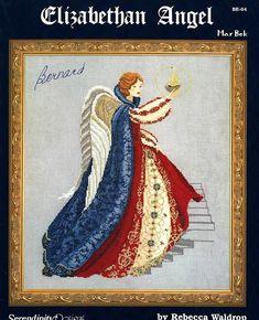Elizabethan Angel - 1/6 Solo Patrones Punto Cruz (pág. 246)   Aprender manualidades es facilisimo.com