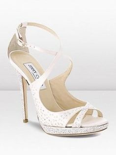 Jimmy Choo Bridal 2013 Shoe Collection - Polish your look to perfection on your wedding day with the help of these sizzling 2013 Jimmy Choo shoes!