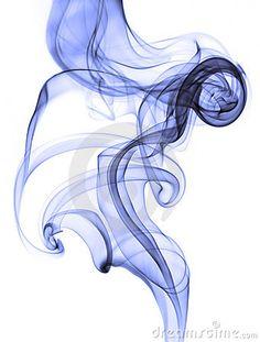 Abstract blue smoke on white background - Tattoo Style Smoke Drawing, Smoke Painting, Smoke Art, Painting & Drawing, Projector Photography, Smoke Photography, Rauch Tattoo, Abstrakt Tattoo, Smoke Tattoo