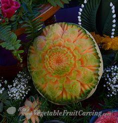 cantaloupe carving kimberly hernandez