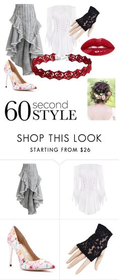 """""""60 Second Style: Asymmetrical Skirts Contest Entry"""" by djfairiy ❤ liked on Polyvore featuring Zimmermann, GUESS by Marciano, Black, asymmetricskirts and 60secondstyle"""