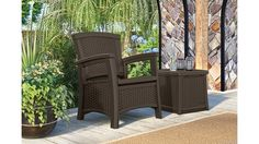 Need a break from spring cleaning? Relax in the Suncast ELEMENTS™ Club Chair!