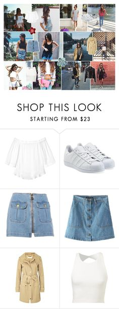 """How these instagramers repeat their clothe"" by mari-rodriguez-24 ❤ liked on Polyvore featuring Rebecca Taylor, adidas Originals, Moschino, MICHAEL Michael Kors and Yves Saint Laurent"