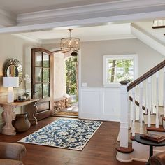 Luxurious Lakeside Cottage with Timeless Coastal Interiors - Home Bunch Interior Design Ideas Interior Paint Colors, Paint Colors For Home, Interior Design, Coastal Interior, Room Colors, House Colors, Living Colors, Living Room Paint, My New Room