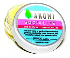 Socialite Solid Perfume. FROM AROMI COSMETICS! Handmade item Materials: jojoba oil, fragrace, violet, lime, lily, apple, jasmine, candelilla wax, castor oil, lauryl laurate, vanilla, gard...