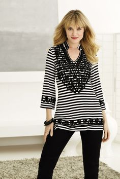 Black and white #trend #SteinMart #spring