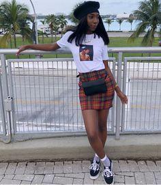 Fashion outfits, fashion и vintage outfits. Black Girl Fashion, Look Fashion, 90s Fashion, Fashion Outfits, Nerd Fashion, Club Fashion, Fashion Skirts, Male Fashion, Cheap Fashion