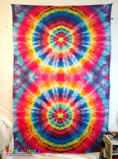 Tapestry Tie Dye Wall & Home Decor by RainbowEffectsTieDye, $30.00