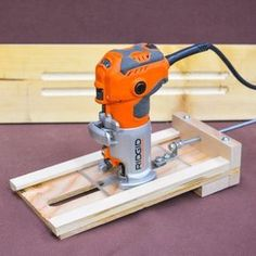Adjustable Wood Fluting Jig. #wood #woodworking