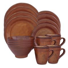 Product Image for Sango Cyprus 16-Piece Dinnerware Set in Sienna 1 out of 2