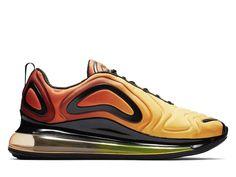 the best attitude a8737 4d4f1 Official Nouveau Nike Air Max 720 Coussin Dair Chaussures De Course Pas  Cher Hommes Sunset Noir