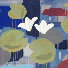 #versomaggio2017 #andreamattiello #art #contemporaryart #artecontemporanea #water #waterflowers #ninfee #emergingartist #artistaemergente