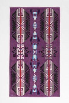 Pendleton Purple Hills Towel