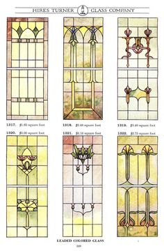 Stained Glass Birds, Stained Glass Designs, Stained Glass Projects, Stained Glass Patterns, Stained Glass Windows, Glass Book, Art Nouveau Pattern, Window Glazing, Tiffany Art