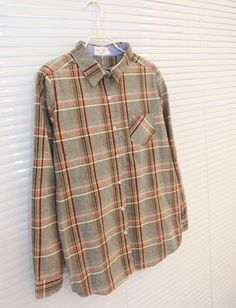 Fall of new high quality classic leisure mix large Plaid Shirt