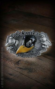 Rumble59 - Schmiere Buckle - Rockabilly Rules - Onlineshop