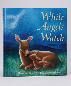 Take a look at this While Angels Watch Hardcover by Bargin Books on #zulily today!